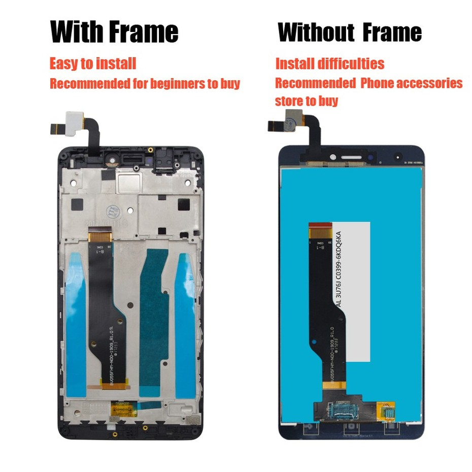 PINZHENG AAAA Original LCD For Xiaomi Redmi Note 4 4X Display Screen For Snapdragon 625 MTK Helio X20 Replacement LCD Display (2)