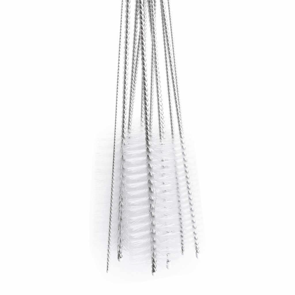 12 Teile/satz Nylon Rohr Zylinder Pinsel Haushalt Flasche Pinsel Rohr Bong Reiniger Glas Rohr Reinigung Pinsel Küche Werkzeuge 20#28