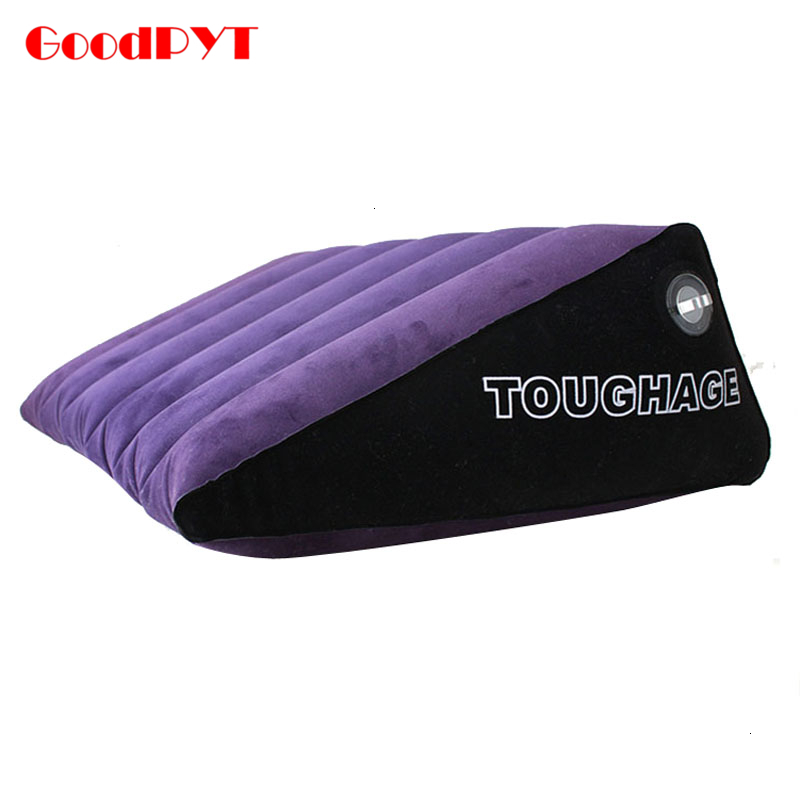 Small Ramp Inflatable Pillow Sex Sofa Inflatable Bed Wedge Sex Pillow Love Position Cushion Couple Toys Pvc Adult Furniture