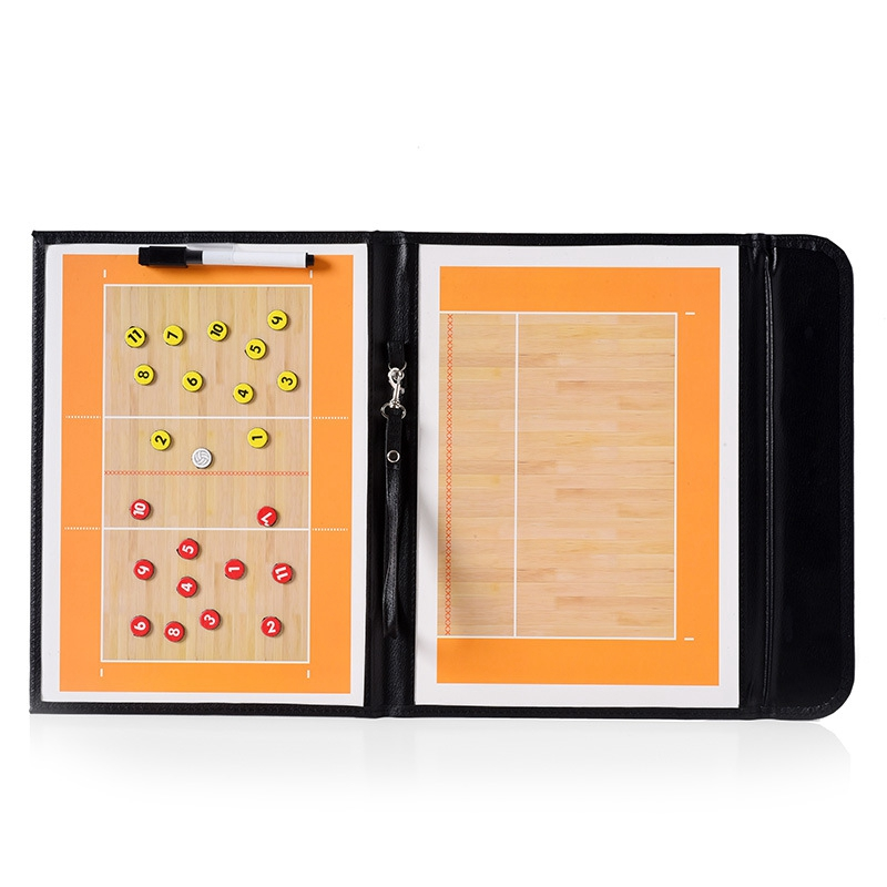 Folding Volleyball Teaching Board Volleyball Magnetic Handball Game Volleyball Teaching Board
