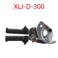 XLJ-D-300 Household Portable Ratchet Cable Cutter Cutting 300mm2 or Less Copper Aluminum Wire Hand Tool Cable Clamp Cable Cutter