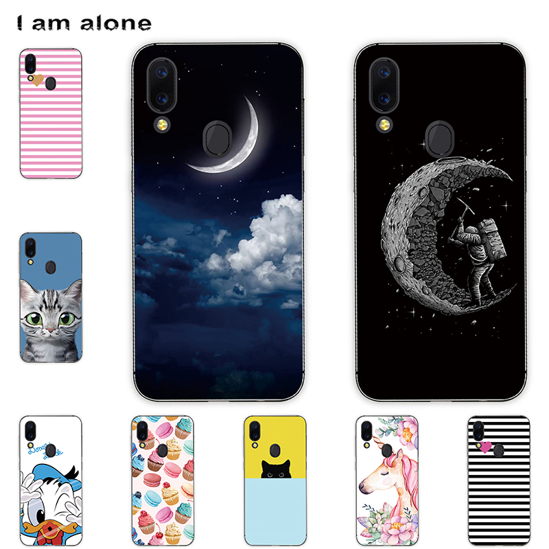 For UMIDIGI A3 A3 Pro 2018 A3S A3X 2019 Mobile Phone Color Painted Cover Soft Silicon Handset Housing Bag Shell