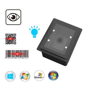 2D Embedded QR Code PDF-417 Data Matrix USB Wired Bar Code Reader  USB  Barcode Scanner bp 617 gd bar code scanner handheld 2 4g wireless 2d barcode reader usb wired rechargeable 32 bit decoder xxm8