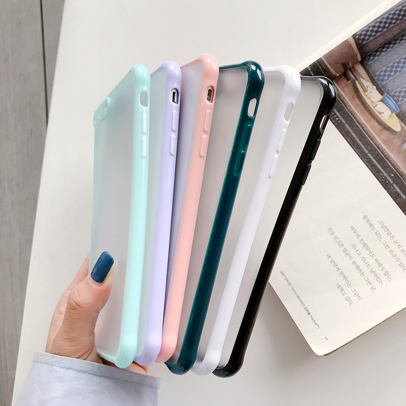 Simple Protection Case For iPhone 12 Pro Mini 11 11 Pro Max XR XS Max X 8 7 Plus Case Matte Translucent Shockproof Back Cover Cellphones & Telecommunications iPhone Cases/Covers Mobile Phone Accessories Phone Covers d92a8333dd3ccb895cc65f: For iPhone 11 For iPhone 11 Pro For iPhone 11Pro Max For iPhone 12 For iPhone 12 Mini For iPhone 12 Pro For iPhone 12Pro Max For iPhone 7 For iPhone 7 Plus For iPhone 8 For iPhone 8 Plus For iPhone SE 2020 For iPhone X For iPhone XR For iPhone XS For iPhone XS Max