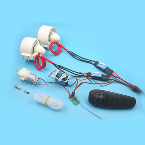1Set 12V Water Thruster Underwater Sprayer Jet Pump+40A ESC+SPT Servo+R385 Water Pump+Receiver for RC Boats Modified