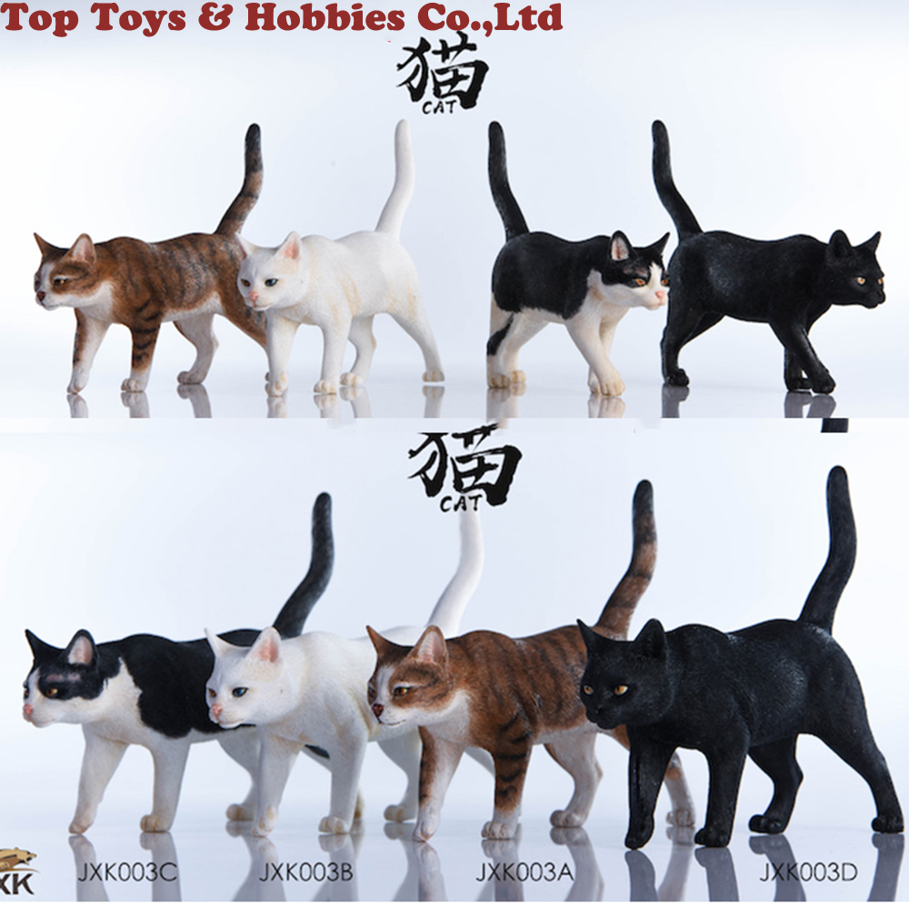 1/6 Resin Animal Model JxK.Studio JxK003 1/6 Chinese Cats Cat 3 Colors Pet Animal F 12