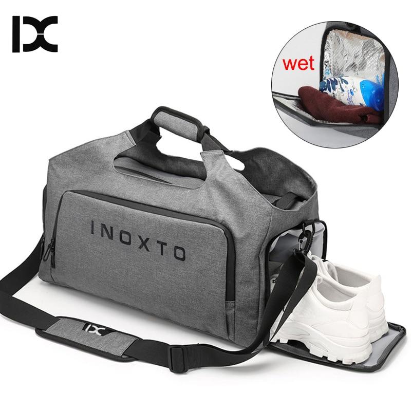 IX  Gym Bag Yoga Mat Fitness Sports Bags For Men Women 2019 Training Travel Dry Wet Gymtas Sac De Sport Sporttas Bolso XA904WA