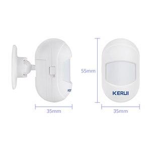 Image 5 - Беспроводной мини детектор движения KERUI, инфракрасный детектор движения с подвижным углом для домашней охранной сигнализации G18 WG11, Wi Fi, GSM