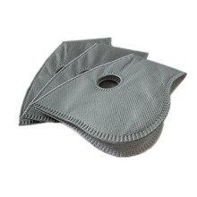 Fietsen Gezichtsmasker Filter Vervanging Actieve Kool Anti Luchtvervuiling Pm 2.5 Training Sport Fiets Training Masker Filter
