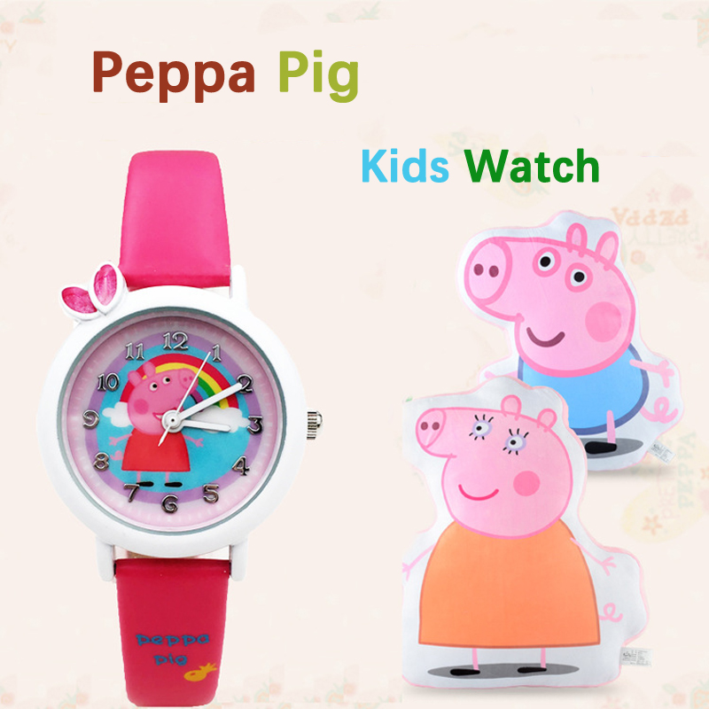 Fashion Kids Watches Girls Cartoon Cute Quartz Clock Boys Watch For Kids Children Watch Christmas Gift Montre Enfant