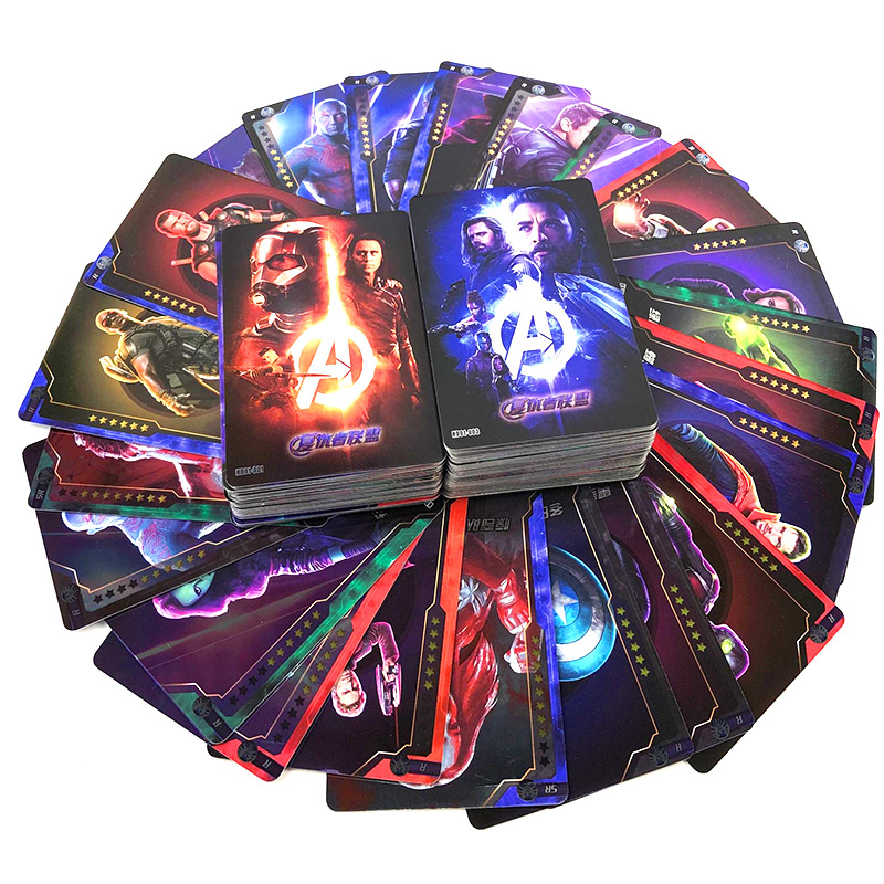 Avengers Card Cards Peripheral Weapons Hand Man Wei Rare SSR Card Full Character Collection