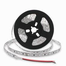 SMD3528 IR A Raggi Infrarossi 850nm 940nm Flessibile HA CONDOTTO Le Strisce 60 LEDs per metro IR LED con Nastro Nero Sfondo Bianco