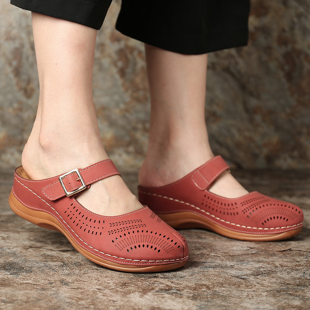 LOOKYZIT Summer Shoes Genuine Leather