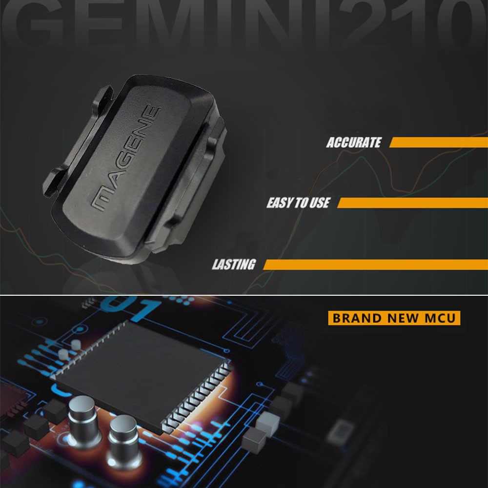 Mageneコンピュータースピードメータージェミニ210 S3 + スピードセンサーケイデンスant + 用のbluetooth stravaガーミンbryton自転車自転車コンピュータ