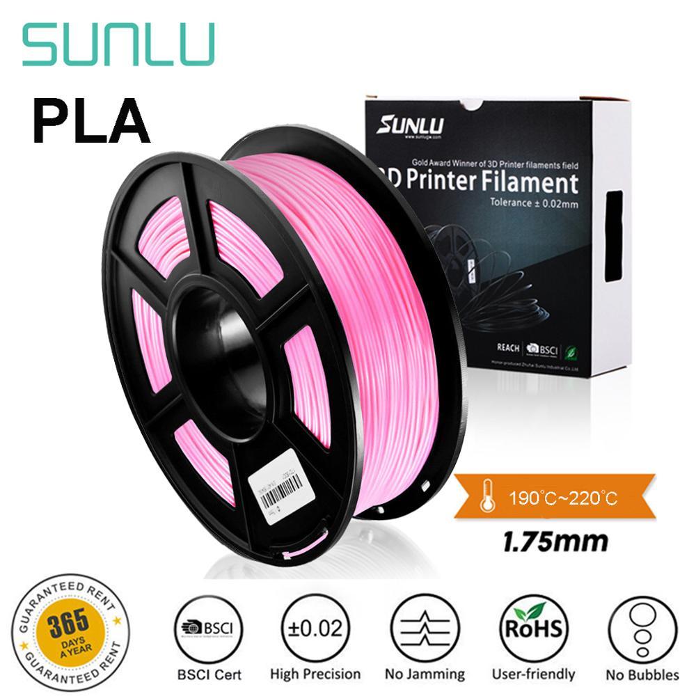 PLA 3D Printer Filament 1.75mm Plastic 1KG For 3D printing PLA Pink Light Gold Orange Blue Green Pur