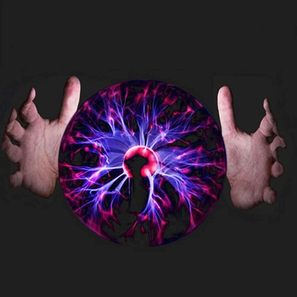 USB Plasma Ball Magic Moon Lamp Electrostatic Sphere Light Bulb Touch Novelty Project Novedades Home Decoration Accessories