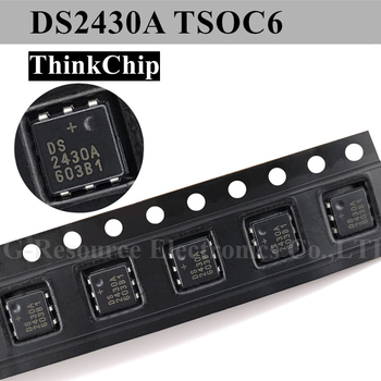 DS2430A / DS2430AP+ TSOC-6 one-time programmable application register (Marking 2430A) new original image