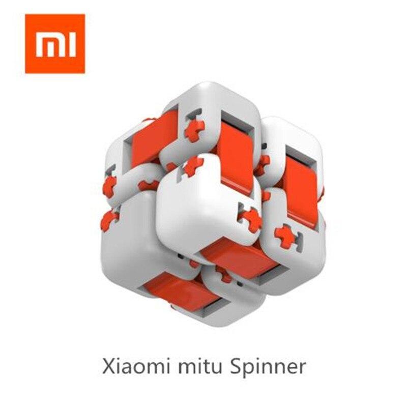 100% Original Xiaomi Mitu Finger Bricks Mi Building Block Spinner Intelligence Finger Toys Portable Smart Toys Gift for Kids