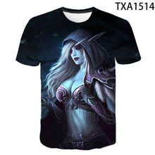 2021 Men And Women New Casual Wild Short-sleeved Fashion Wild Warcraft 3d Children's Trend High-quality Quick-drying T-shirt
