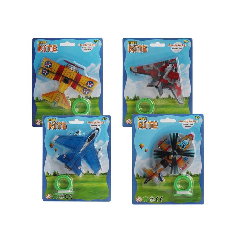 Outdoor Mini-card Ventilation Kite Insect Butterfly Plane Child Easy To Fly Teaching Kite