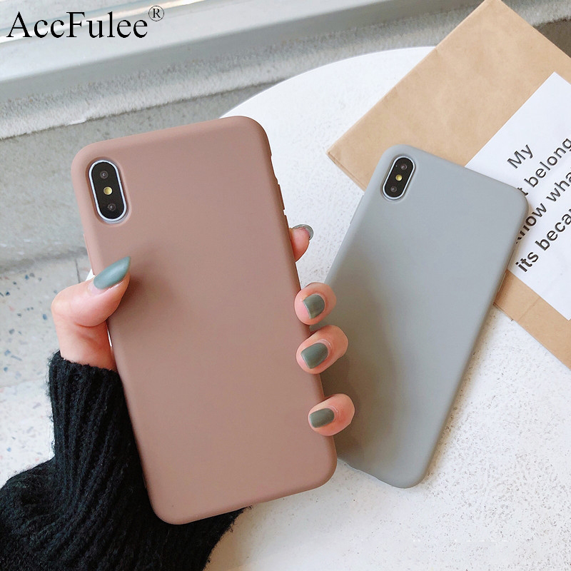 Ultra Thin Solid Color Cases For Samsung Galaxy A5 2017 A6 Plus A70 A7 2018 A8 Star A9 2018 A51 A71 A81 A91 Soft TPU Case Cover