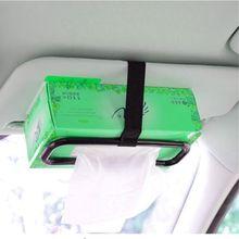 Портативный автомобильный солнцезащитный козырек тканевая коробка держатель автомобилей на заднее сиденье бумажный держатель для полотенец A0NE
