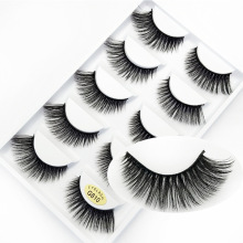 Eyelash 3d eyelash natural thick soft false manual