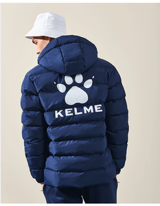Image 5 - קלם גברים של כותנה זוג מעיל ברדס חם מעיל אימון ספורט צוות אחיד כותנה מרופדת מעיל 3881405