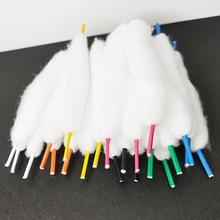 21PCS bacon cotton BROZ Vape Organic rainbow Cotton for RDA RTA RBA Atomizer Coil Wire Electronic Cigarette