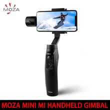 IN STOCK! MOZA MINI MI 3-Axis Handheld Gimbal Stabilizer for Smart phone iPhone X 8 Plus 8 7 Samsung S9 S8 S7