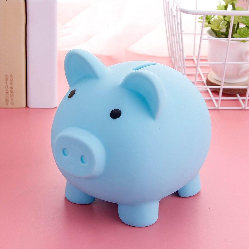 Детская маленькая копилка, коробки для денег, коробка для хранения монет, игрушки в форме мультяшной свиньи, коробка для денег, горшок, подар...