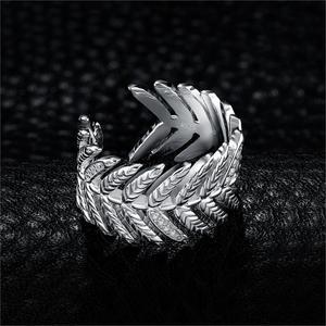 Image 2 - JewelryPalace 포장 큐빅 지르코니아 선조 잎 조정 가능한 열기 반지 925 스털링 실버 여성을위한 새로운 트렌디 한 반지 파인 쥬얼리