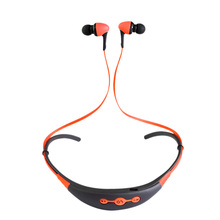 Neck-Mounted Sports Bluetooth Headset 4.1 One to Two Stereo Music Headphones Generation Bt-54