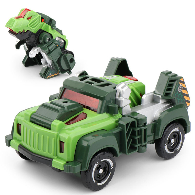 Dinosaur Model Deformation Car Vehicle Transformation Robots Children Toys Cool Deformation Car Kids Toys Gifts For Kids