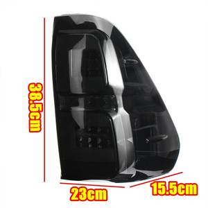 Image 5 - Pair Led Taillights For Toyota Hilux Revo SR5 M70 2015 2018 Pickup Car Brake Lamp Modified High Brightness Styling Fog Lamp DRL