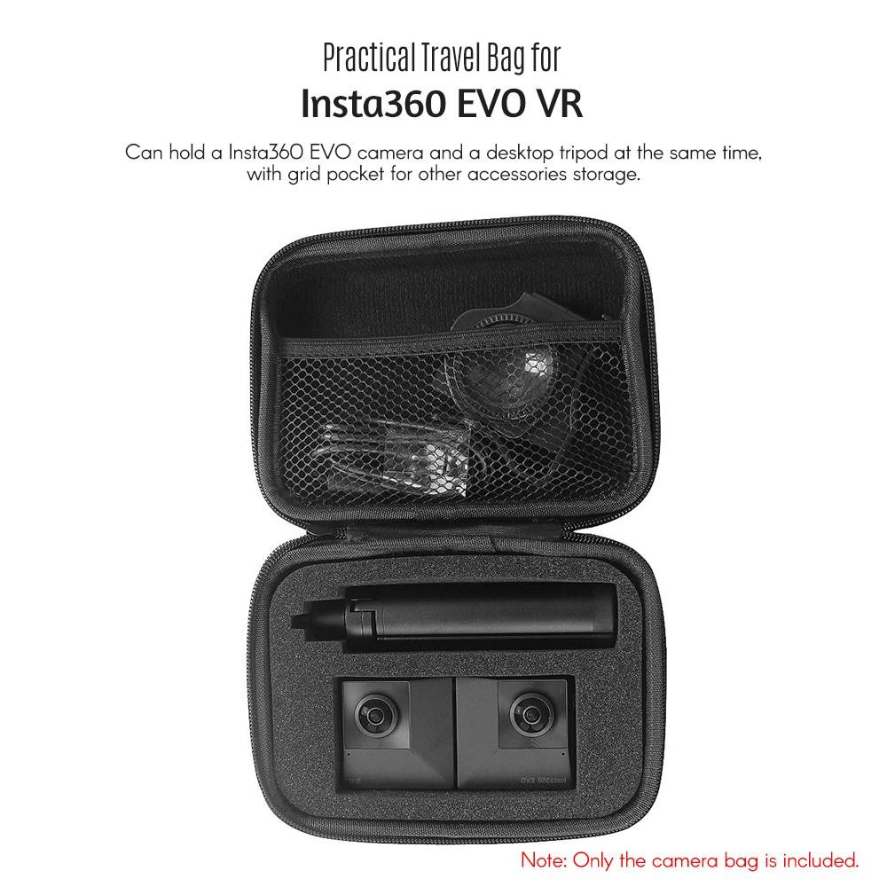 EVA Handbag Storage Bag Waterproof Travel Carrying Case For Insta 360 EVO Camera