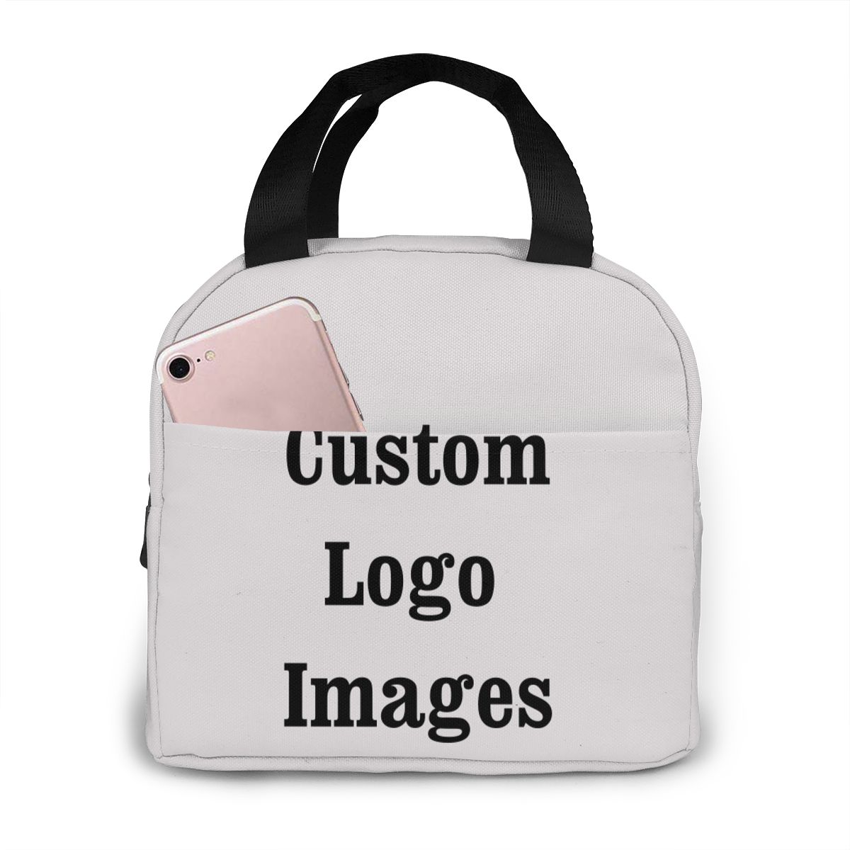 Bolsa de Almoço Bolsas de Piquenique Portátil para Escola Logotipo Personalizado Refrigerador Padrão Impressão Meninas Comida Térmica Crianças Meninos Caixa Tote Dropshipping