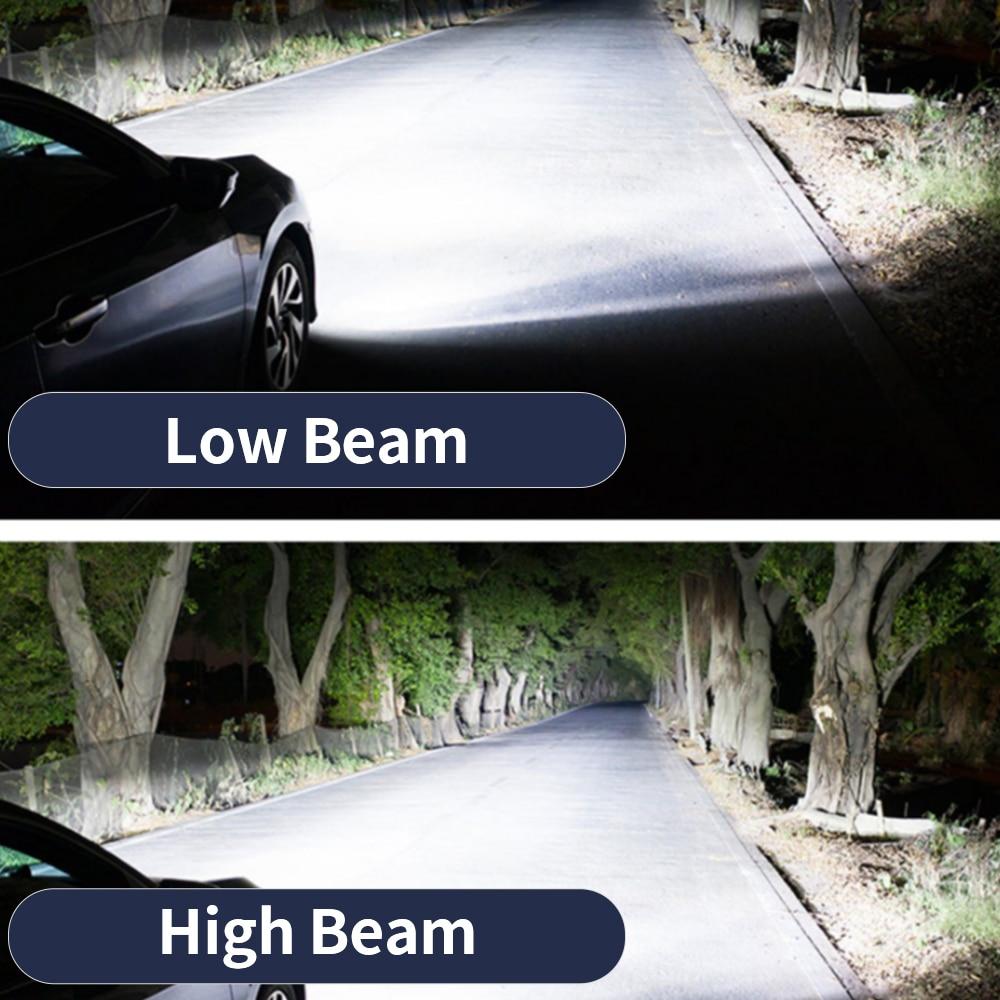 Image 5 - Infitary H4 H7 Led Headlight Bulbs 80W H1 H3 H8 H11 H13 9005 HB3 9006 HB4 ZES Chips 16000LM 6500K 12V Lamp Car Auto Fog LightCar Headlight Bulbs(LED)   -