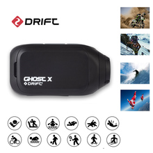 Original Drift Action Camera Sport Cam Ghost X Plus MC 1080P Motorcycle Mountain Bike Bicycle long life battery Helmet Cam WiFi cheap OmniVision Series Ambarella A12 (4K 30FPS) About 12MP 2000mAh 1 2 8 inches Extreme Sports Beginner For Home Car DVR Semi-professional