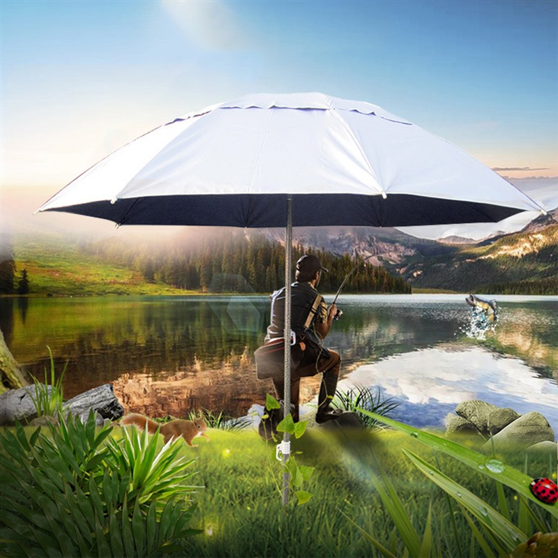 Outdoor Parasol Sun Shade Umbrella New Garden Beach Patio Tilting Tilt Umbrella Parasol Protection Ultraviolet-proof Adjustable