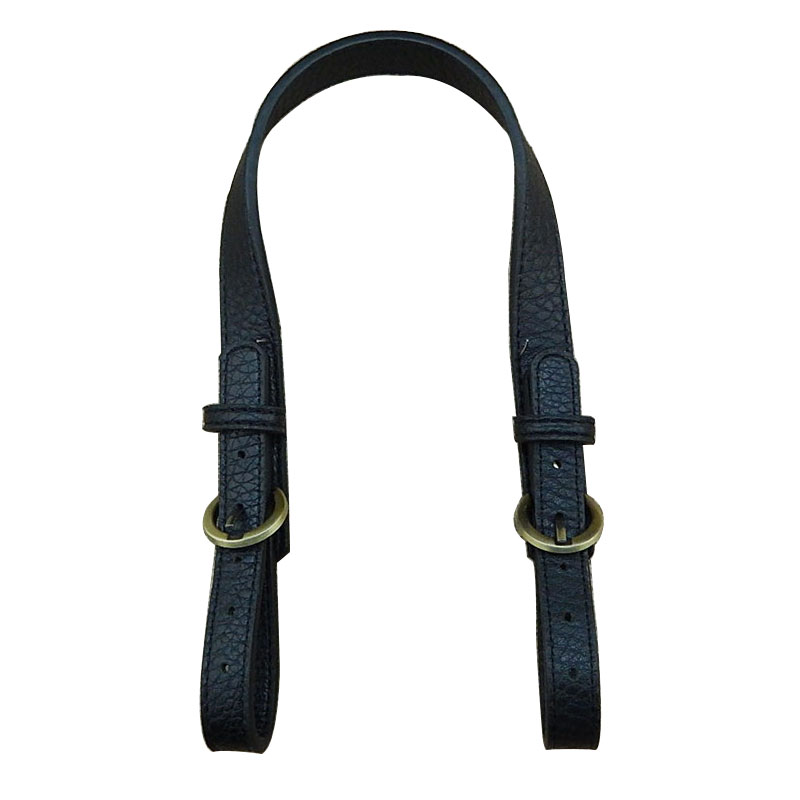 47~54CM Double-ended Adjust Handbag Belt Handle Shoulder Bag Strap For DIY Solid Color PU Leather Replacement Bag Accessories