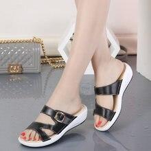 Женские летние пляжные сандалии гладиаторы из натуральной кожи;
