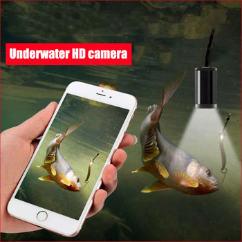 15M HD underwater camera 5 million pixel visual fishing device WiFi connection mobile phone tablet 8LED illuminated fish finder