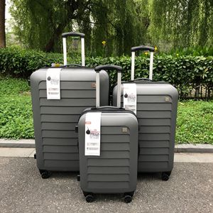 Image 4 - TRAVEL TALE women expand kofferset hard ABS travel suitcase men luggage sets 3 pieces