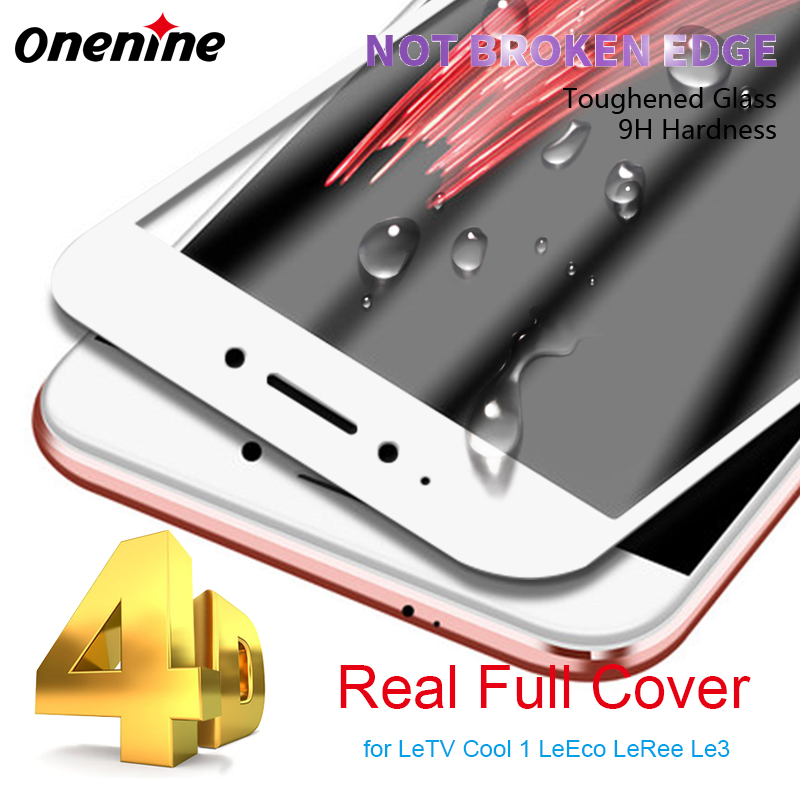 Full Cover Screen Protector for LeTV Cool 1 Tempered Glass 9H 3D Curved Glass Screen LeEco Coolpad Cool1 LeRee Le 3 Le3 4D Film(China)
