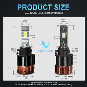 Image 3 - H15ไฟหน้าหลอดไฟ CANBUS LED โคมไฟ6000K Day Time Running Light DRLs สำหรับ Volkswagen Golf 6/7/Sportsvan FORD Edge/Explorer