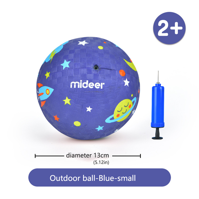 MiDeer Baby Outdoor Toys Ball Non slip toxic 1 4Y Modeling Texture Colorful Safety Elastic Force