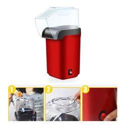 Łatwe do przenoszenia elektryczny  gorący powietrze maszyna do robienia popcornu Retro maszyna kino domowe gastronomiczne G8TC