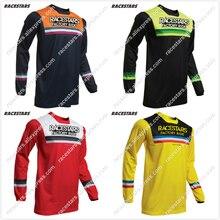 цена на NEW RACESTARS Off road ATV Racing MTB Jersey T-Shirt Bicycle Cycling Bike downhill Jersey Motorcycle Jersey Motocross DH MX Ropa
