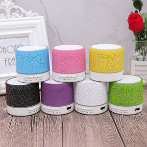 Image 5 - Mini Bluetooth Speaker Wireless Columnar Loudspeaker LED Stereo Subwoofer TF Card USB Mp3 Audio Music Player